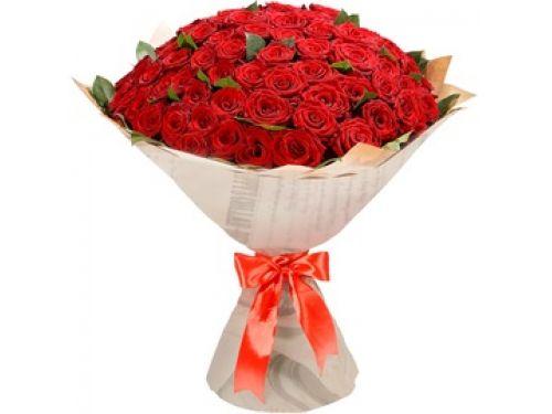 """Букет 101 роза. Премиум Класса. Сорт - """"Red Naomi"""""""