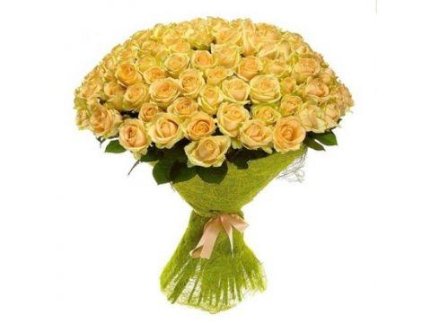 "Букет 101 роза ""Элита"""