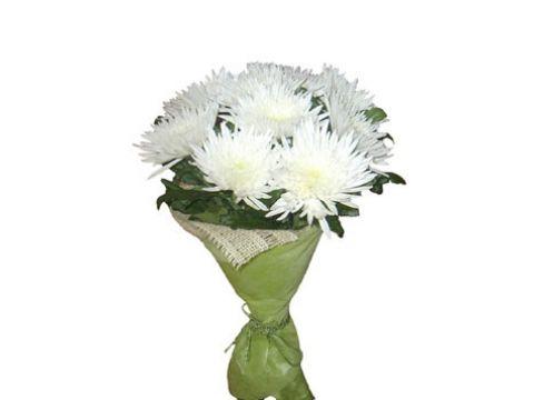 Букет 9 хризантем