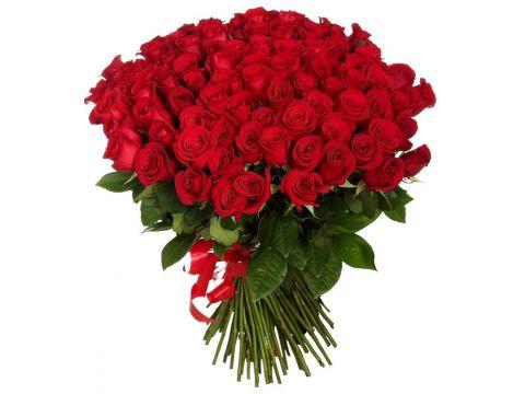 Букет 101 роза Эквадор