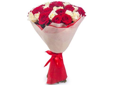 """51 Роза из нескольких цветов, """"Mix 2"""""""