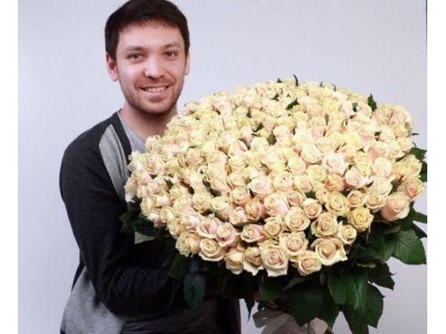 """201 кремовая РОЗА """"Талея"""""""