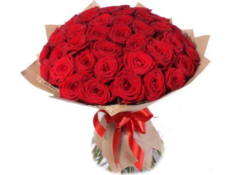 Премиум букет 51 розы Красной