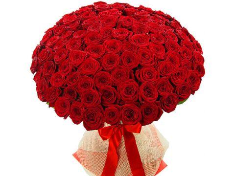 Букет из 100 роз