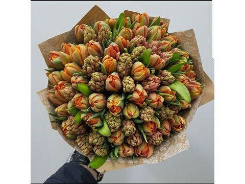 Гиацинты и тюльпаны Микс 2
