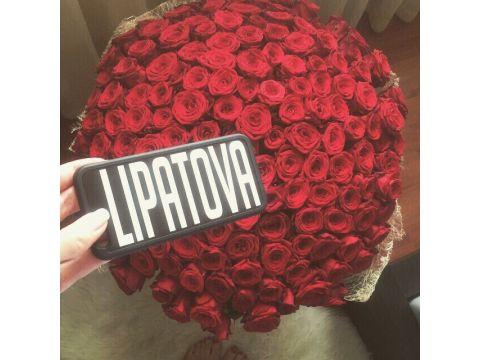 """101 красная роза """"Афродита"""""""