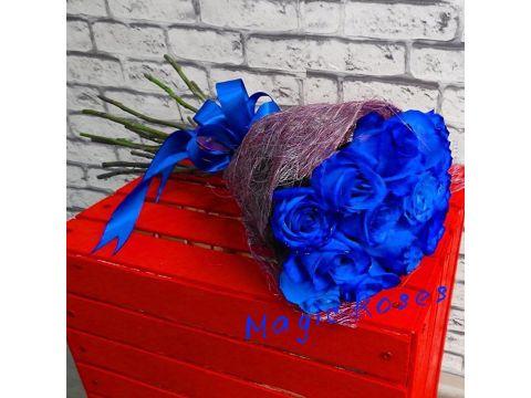 11 cиних роз