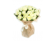 29 белых роз