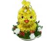 Цыпленок из цветов