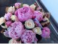 Пионы + розы