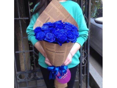 """19 синих роз """"Валерия"""""""