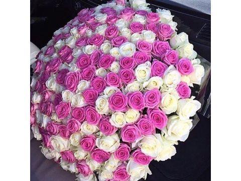 """201 Роза из нескольких цветов, """"Mix 3"""""""