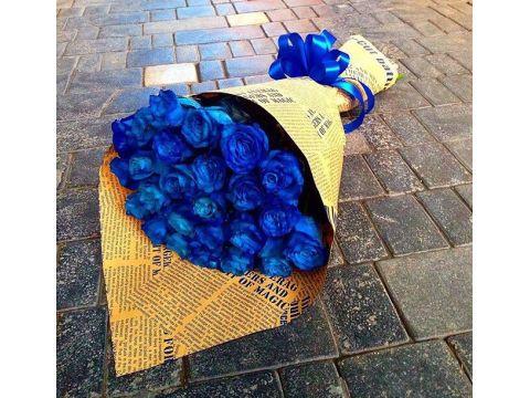 29 синих роз