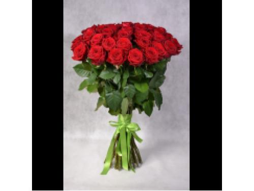 39 красных роз