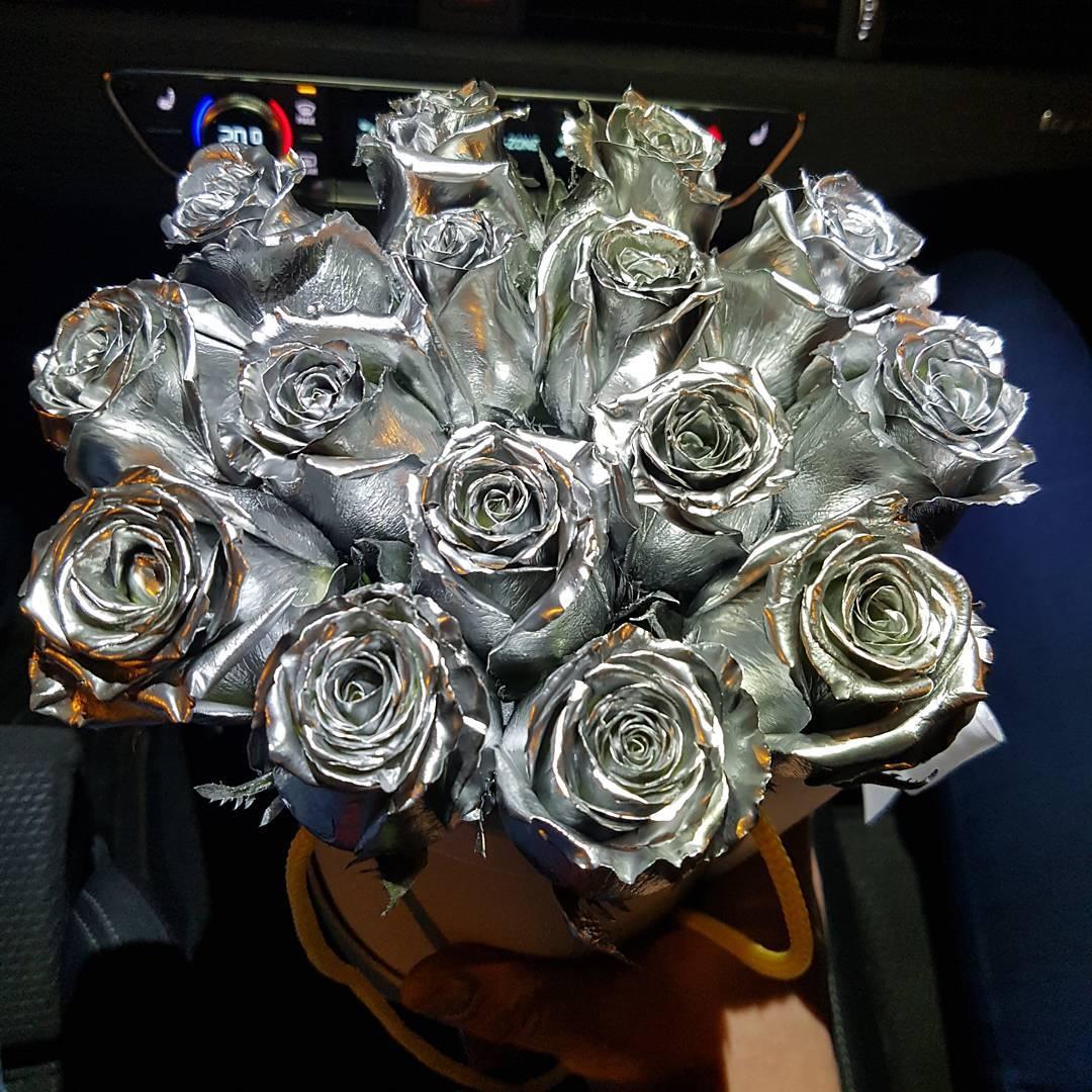 скажу, серебристые розы фото том году пробовала